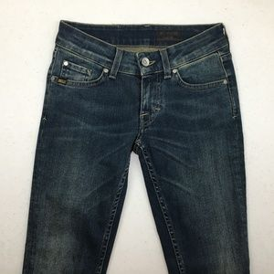 TIGER OF SWEDEN Devine Blue Womens Jeans 26 ITALY